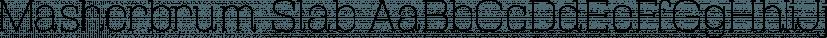 Masherbrum Slab font family by Juraj Chrastina