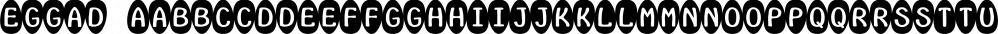 Eggad font family by Ingrimayne Type