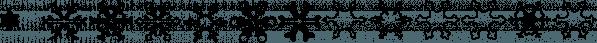 XSchneeFlaken font family by Ingrimayne Type