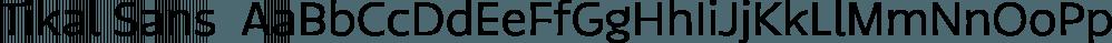 Tikal Sans  font family by Latinotype