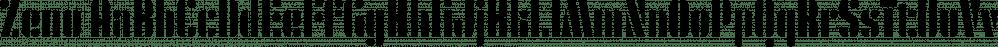Zeno font family by Device