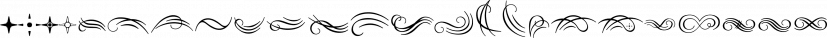 Natalya Swashes font family by Insigne Design