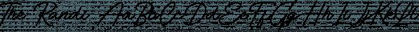 The Randi font family by Letterhend Studio