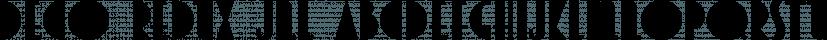 Deco Redux JNL font family by Jeff Levine Fonts