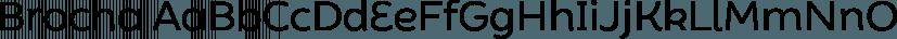 Brocha font family by Latinotype