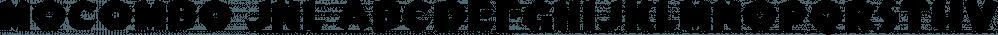 Mocombo JNL font family by Jeff Levine Fonts
