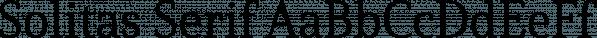 Solitas Serif font family by Insigne Design