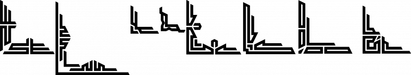 Black Edge font family by Mirco Zett