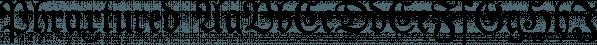 Phraxtured font family by Ingrimayne Type