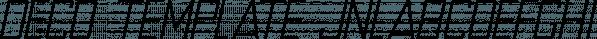 Deco Template JNL font family by Jeff Levine Fonts