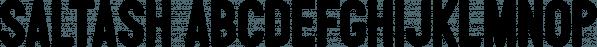Saltash font family by Ian Barnard