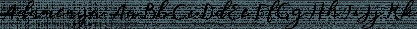 Adamenya font family by Area Type Studio