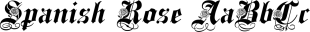 Spanish font family mini