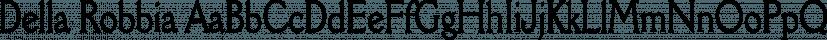 Della Robbia font family by FontSite Inc.