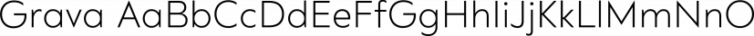 Grava font family by Positype