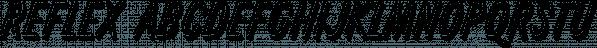 Reflex font family by SoftMaker