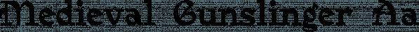 Medieval Gunslinger font family by Ingrimayne Type