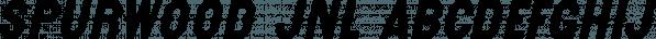 Spurwood JNL font family by Jeff Levine Fonts