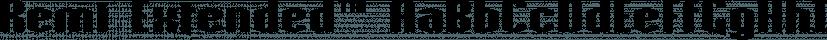 Remi Extended™ font family by MINDCANDY