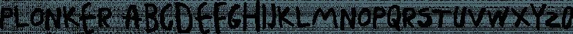 Plonker font family by Tour de Force Font Foundry