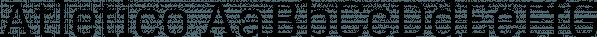 Atletico font family by Artill Typs