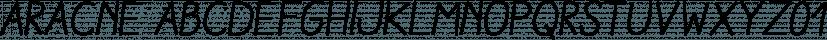 Aracne font family by Antipixel