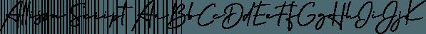 Allison Script font family by Fenotype