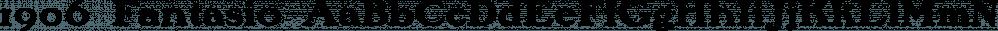 1906 Fantasio font family by GLC Foundry