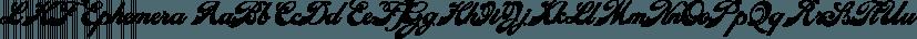 LHF Ephemera font family by Letterhead Fonts