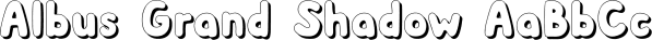 Albus font family by Gustav & Brun