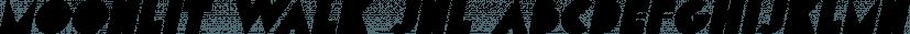 Moonlit Walk JNL font family by Jeff Levine Fonts