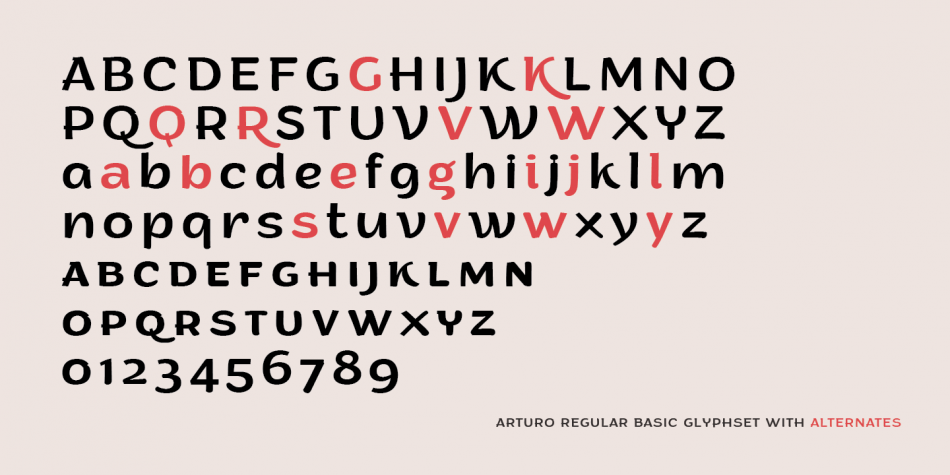 Download Arturo Font Family